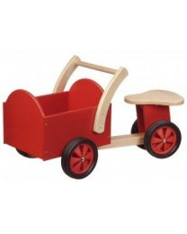 New Classic Toys Houten Loopbakfiets Rood 11400