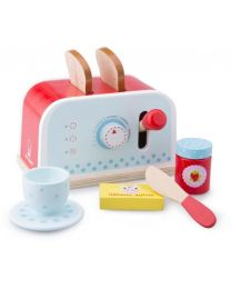 New Classic Toys Broodrooster rood/blauw 10701