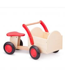 New Classic Toys bakfiets rood/blank 11401