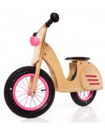 Woodtoys Prince Lionheart scooter roze 117602