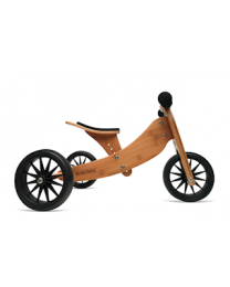 Kinderfeets Tiny Tot 2 in 1 fiets bamboo 98570